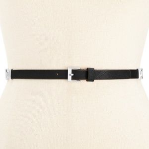 kate spade new york Saffiano Belt with Bow